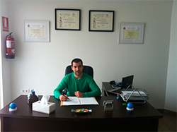 Enrique Balbontín, psicólogo en Huelva