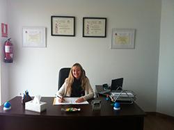 María Ojeda, psicóloga en Huelva