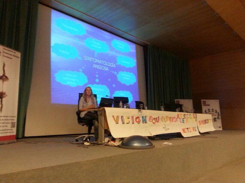 charla sensibilización ante la discapacidad