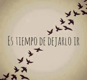dejar ir